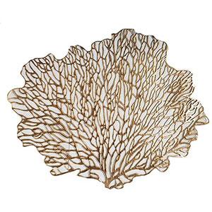 Mantel individual diseño árbol gris de 47x41cm