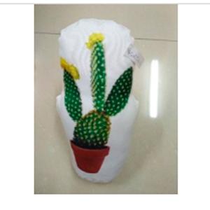 Cojín  sijetador de puerta diseño Cactus en maceta de 38cm