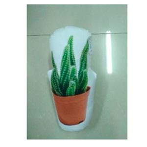 Cojín  sijetador de puerta diseño Cactus en maceta de 30cm