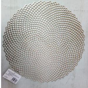 Mantel individual diseño circulos de 38x38cm