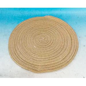Mantel de cordon tejido café de 38cm
