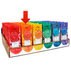 Paquete de 40 conos de incienso con aroma �?xito y quemador