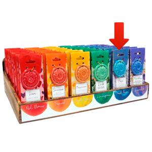 Paquete de 40 conos de incienso con aroma Esperanza y quemador
