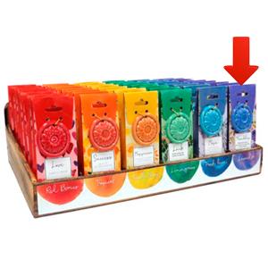 Paquete de 40 conos de incienso con  aroma Amistad y quemador