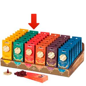 Paquete de 30 conos de incienso con aroma Jazmín y quemador