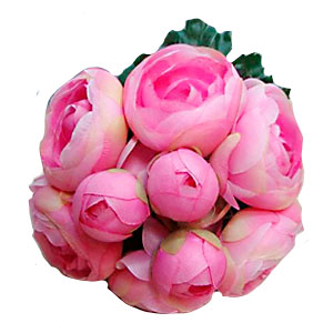 Ramo de flores rosas