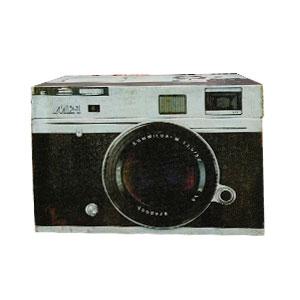 Caja de madera diseño Cámara Fotográfica de 20x10x14cm