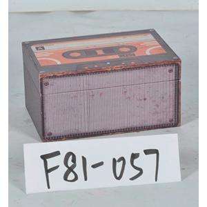Caja de madera diseño Cassette de 20x14x10cm
