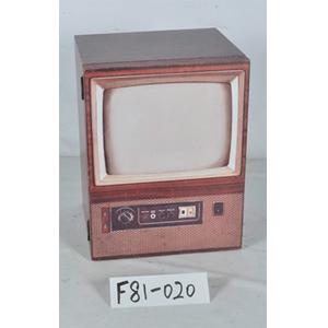 Caja de madera diseño Televisor antiguo de 34x30x44cm