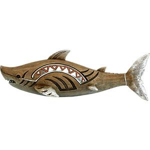 Tiburón con espejos de 34.3x12.8x20.8cm