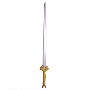 Espada decorativa de látex de 102cm