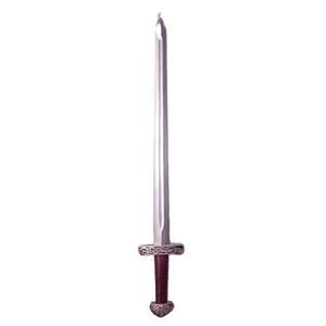 Espada decorativa de látex Medieval de 96.5cm