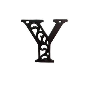 Letra Y de hierro de 10cm