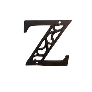 Letra Z de hierro de 10cm