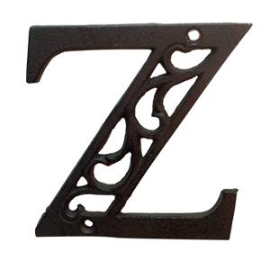 Letra Z de hierro de 20cm