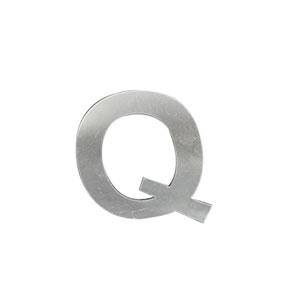 Letra Q de acero de 15cm