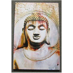 Cuadro diseño Buda con diamantina de 60x90x2.5cm
