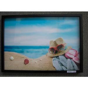 Cuadro estampado paisaje de Playa 50x70x3cm