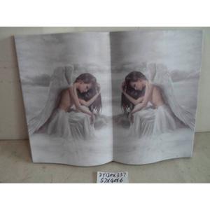 Cuadro diseño Libro estampado de Angeles de 57x40x6cm