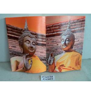 Cuadro diseño Libro estampado de Budas de 57x40x6cm