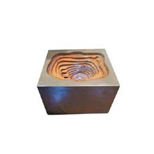 Fuente de mesa moderna con luz led de 45.5x37.5x31cm