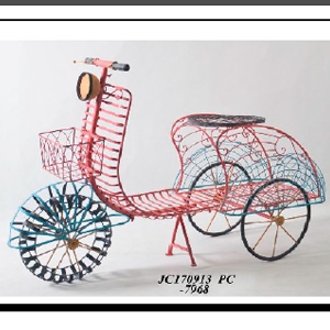 Motocicleta de Lamina roja 167x70x107cm
