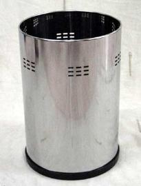 Bote papelero de acero inoxidable de 7 litros
