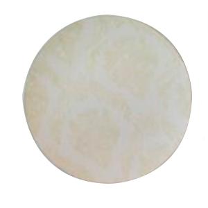 Plato beige con grabado diseño guias de 40cm