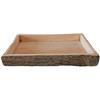 Charola rectangular
