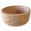 Bowl de madera de 42