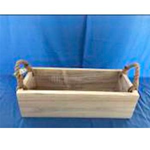 Canasta rectangular
