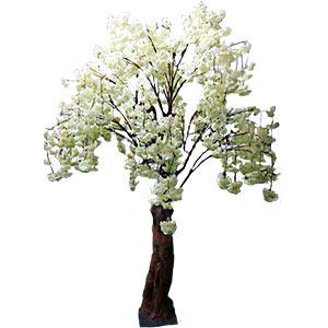 Árbol con flores blancas de 230cm