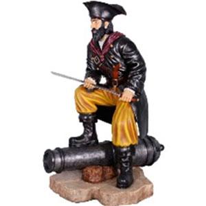 Pirata parado en cañon de 163x91x184cm