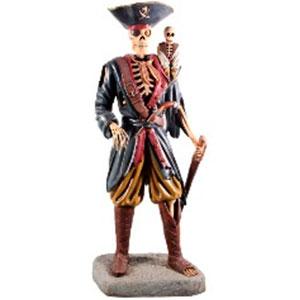 Pirata en forma de esqueleto de 83x61x206cm