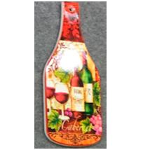 Porta calientes diseño Botella de vino de 8x30cm