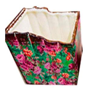 Maceta de cerámica diseño libros de 17.5x13.5x16.5cm