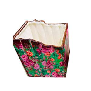 Maceta de cerámica diseño libros de 17.5x13.5x12.5cm