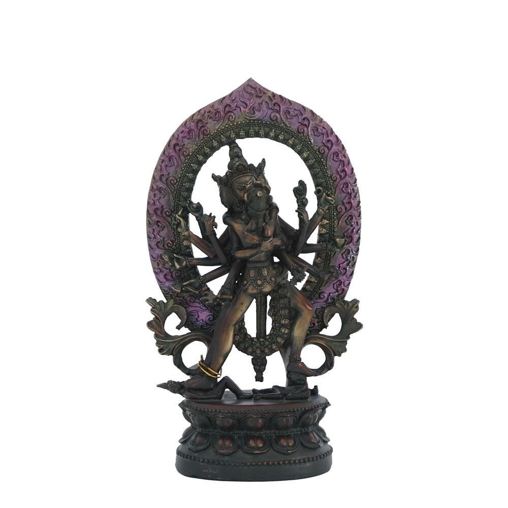 Dios Shiva en círculo de 30cm