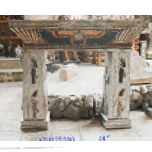 Mesa diseño Egipcia de resina de 140x38x122cm