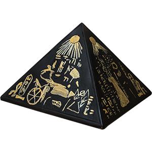 Pirámide Egipcia de resina de 22x22x14cm