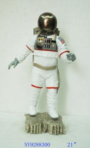 Figura de Astronauta de 29x27x54cm