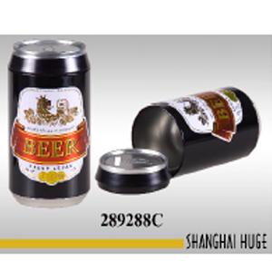 Bote de lámina diseño cerveza de 8x16cm