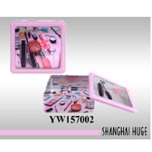 Caja de lámina cuadrada diseño estuche de belleza de 23x21x8cm