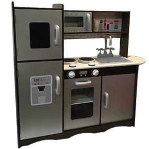 Cocina infantil con refrigerador de 91x30x83cm