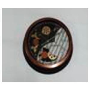Reloj de pared redondo con engranes de 46x46x9cm