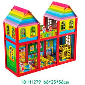 Kínder Armable con accesorios para niños de 66x25x56cm