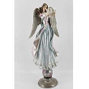 Figura de Angel con palomas de 22x20x54cm