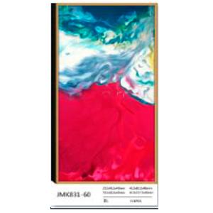 Cuadro diseño abstracto de 60x120x4 cm