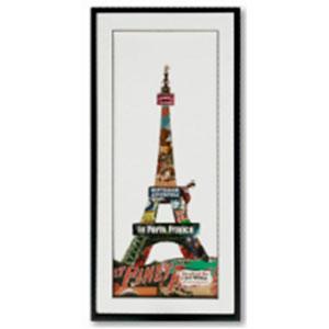 Cuadro diseño Torre Eiffel de 50x100x3cm
