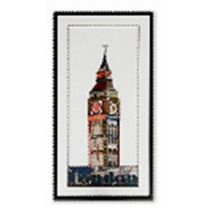 Cuadro diseño Big Ben de 50x100x3cm